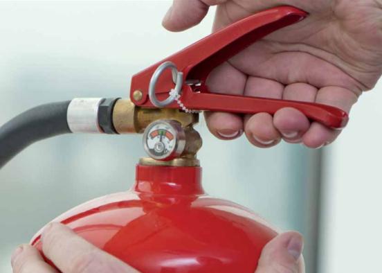 ¿Qué tipos de extintores existen?