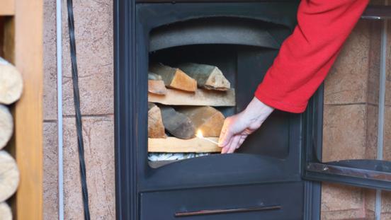 Cómo utilizar bien una chimenea