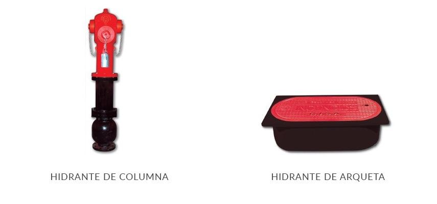 Hidrante de columna, hidrante de arqueta