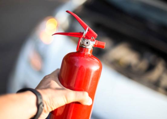 ¿Qué tipo de extintor debe llevar mi coche?
