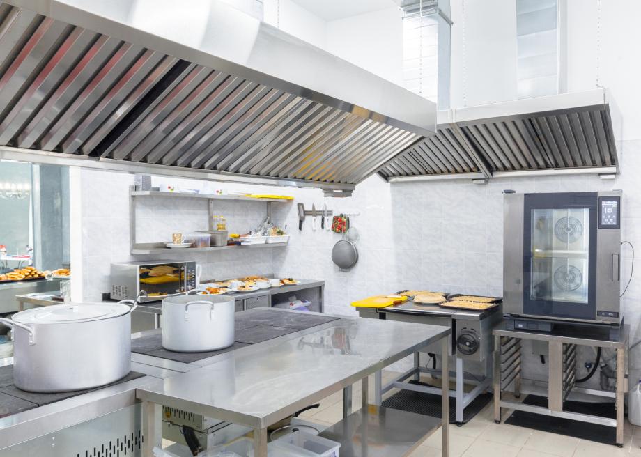 Sistema de extinción automática en incendios para cocinas industriales